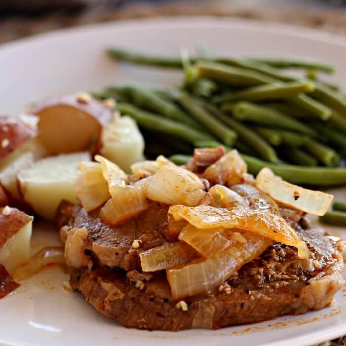 Crockpot Steak Recipe - The best way to cook round steak!