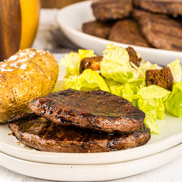 This is by far the best steak marinade recipe. It has only three easy ingredients and is packed with flavor. You'll never make a steak without it again.