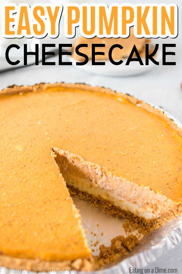 I have a super delicious and very easy Pumpkin Cheesecake recipe for you to try. Creamy layers of pumpkin pie and cheesecake combine for a decadent dessert.