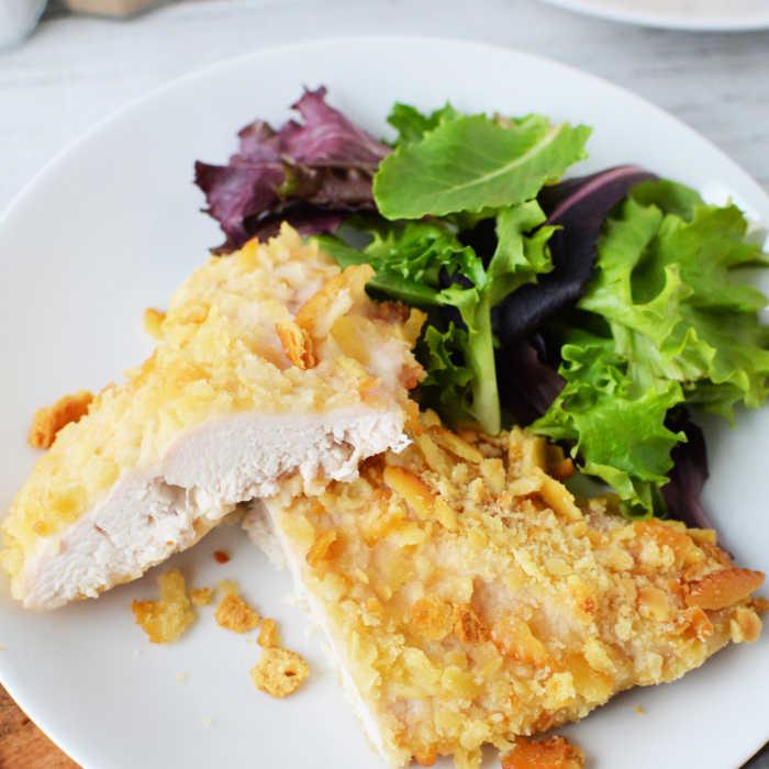 Ritz Cracker Chicken Recipe Eating On A Dime