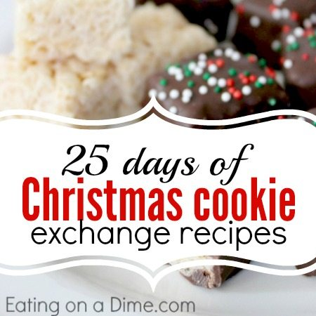 25 Days Of Christmas Cookie Exchange Recipes Eating On A Dime