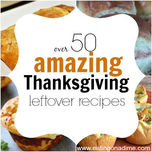 You are going to love these Thanksgiving Leftover recipes. Here are over 50 easy recipes for Thanksgiving leftovers that your family will love.