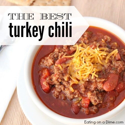 Delicious Ground Turkey Chili Recipe Eating On A Dime