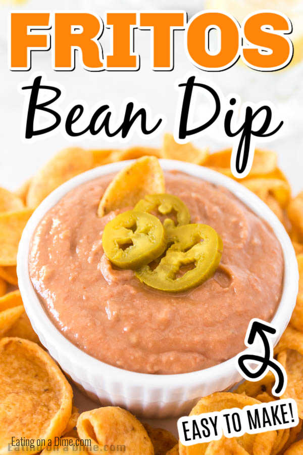 Learn how to make Fritos bean dip at home for a fraction of the cost of store bought. This is the best dip for parties, movie night or Game Day!
