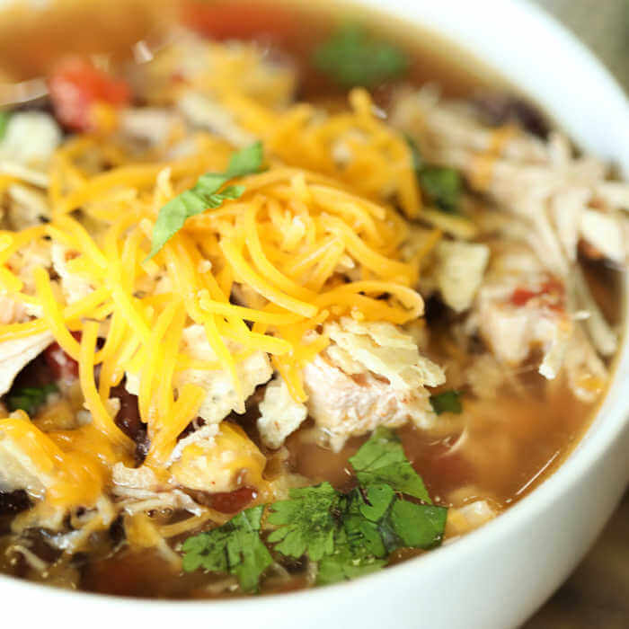 Crockpot Chicken Tortilla Soup Recipe Easy And Budget Friendly