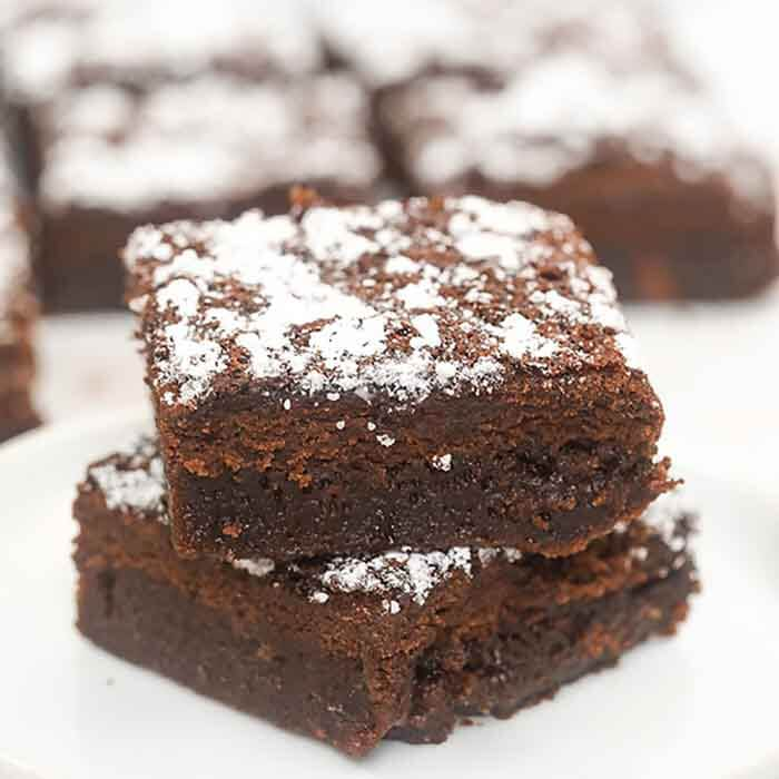 You only need 2 ingredients to make Diet coke brownies. This easy treat is delicious and much lower in calories than a traditional brownie.