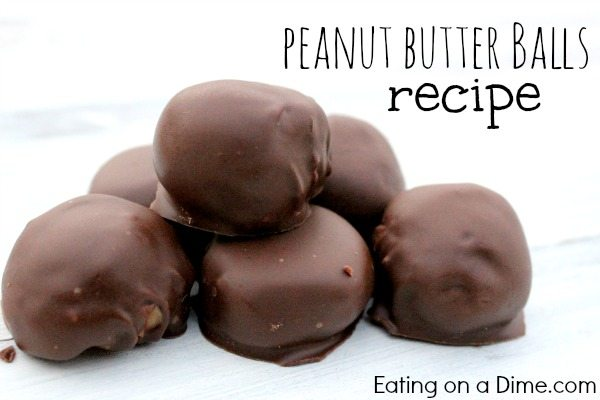Chocolate covered Peanut Butter Balls recipe is so easy to make and taste great. Peanut butter balls recipe taste amazing for any occasion. Try this simple Peanut butter balls recipe. Peanut butter balls are so creamy and covered with yummy chocolate. Learn how to make peanut butter balls.