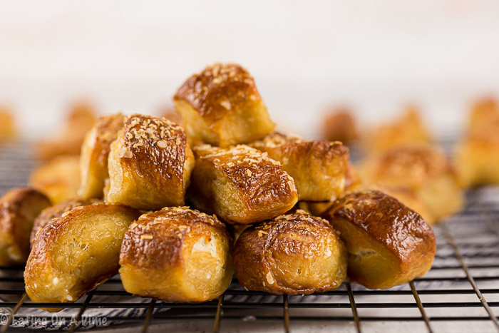 Try this homemade pretzel bites recipe the next time you are throwing a party or want a fun snack. They taste better than the store bought pretzels!