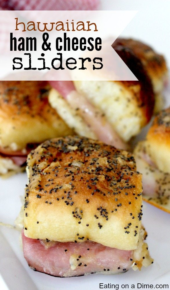 Hawaiian Ham and Cheese Sliders | Easy 4th of July Recipes [Sliders Edition] | 4th of july recipes red white and blue