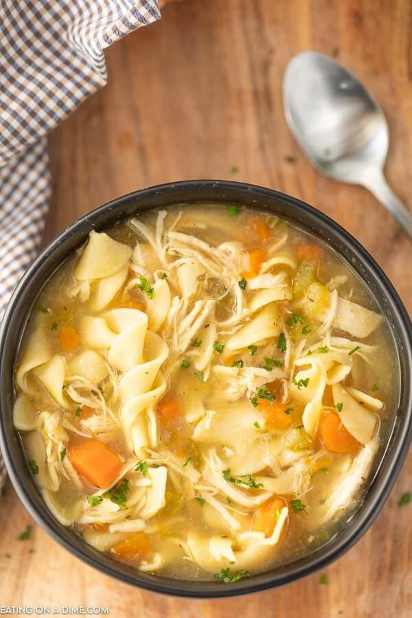 Panera Chicken Noodle Soup Recipe