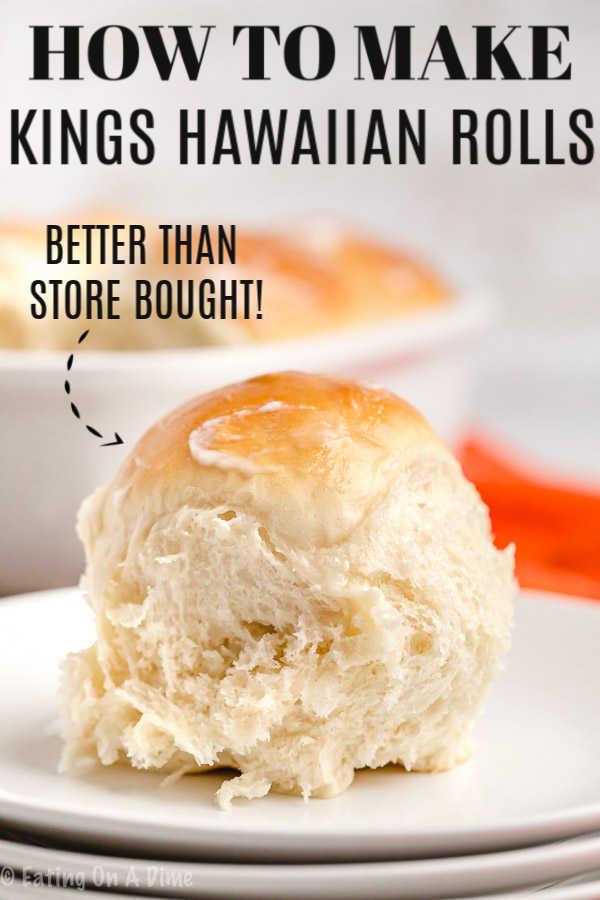 Kings Hawaiian Rolls Recipe Homemade Hawaiian Rolls