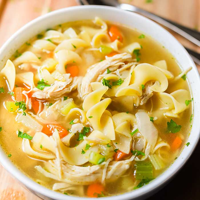 Homemade Chicken Noodle Soup Recipe Ready In 20 Minutes