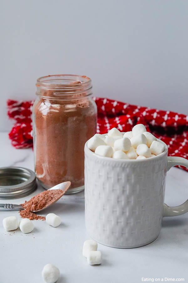 Easy Homemade Hot Chocolate Mix Hot Cocoa Mix Recipe In A Jar