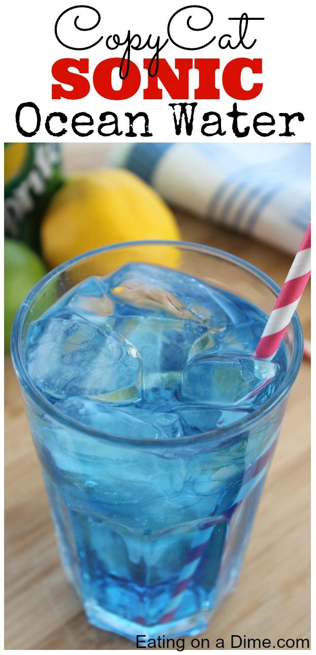 Blue Ocean Water Drink Recipe