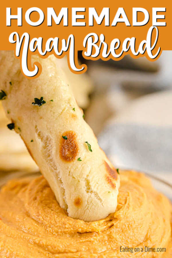 This naan bread recipe is so simple and easy to make! It is easy to make and tastes amazing! You'll never buy naan bread from the store again!