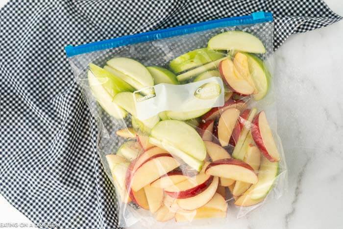 Try easy caramel apple nachos recipe for a treat. Layers of crispy apples topped with decadent caramel sauce come together for a tasty snack.