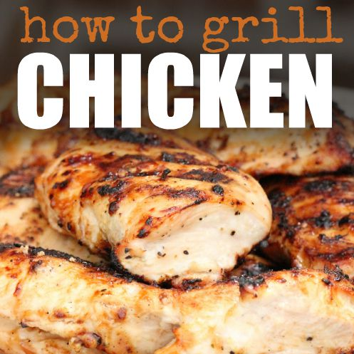 We have the best tips and tricks to learn how to grill chicken breasts perfectly every time. Try these tips for moist and tender chicken every single time!