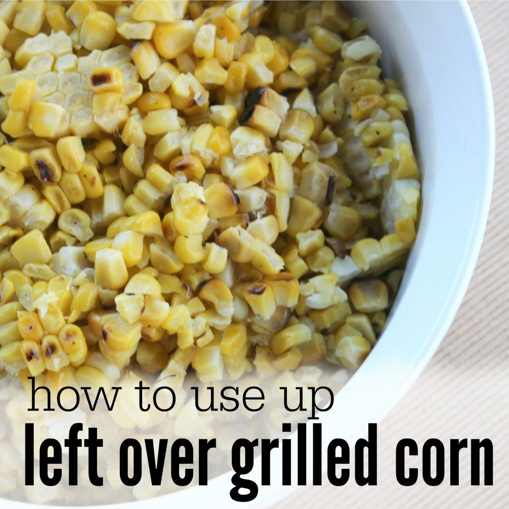 How to use Leftover Corn