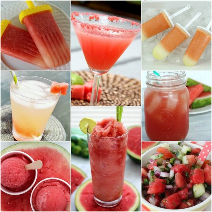 You just have to try one of these amazing watermelon recipes this Summer. From watermelon drink recipes to watermelon dessert recipes you have to try one!