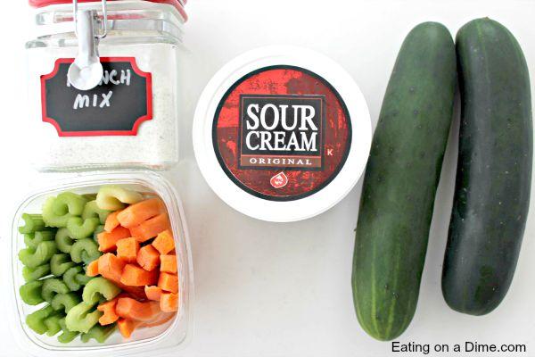 cucumber bites ingredients