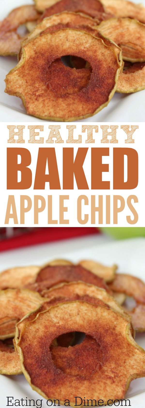 How to make apple chips in the oven. Are apple chips healthy? These baked apple chips are so easy to make, healthy and taste great. You are going to love these easy baked apple slices.