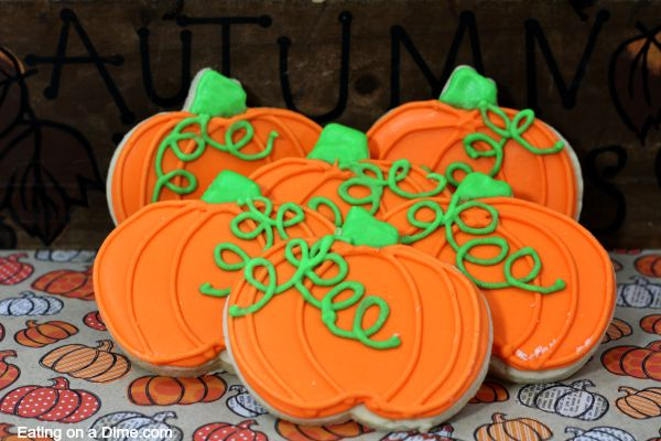 Pumpkin sugar cookies - Easy Pumpkin Sugar Cookie Recipe