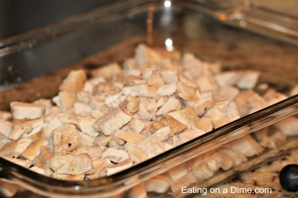 diced chicken ready to use