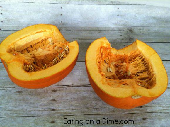 pumpkin half