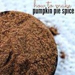 Pumpkin Pie Spice Learn How To Make Pumpkin Pie Spice