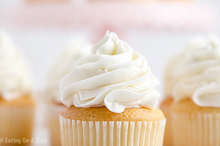Once you learn how to make buttercream icing you'll never buy store-bought icing ever again! Fluffy and perfect vanilla buttercream every time!