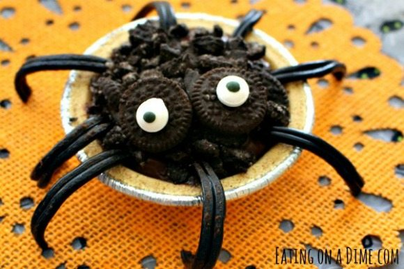 easy halloween desserts for kids - Pudding Halloween Desserts
