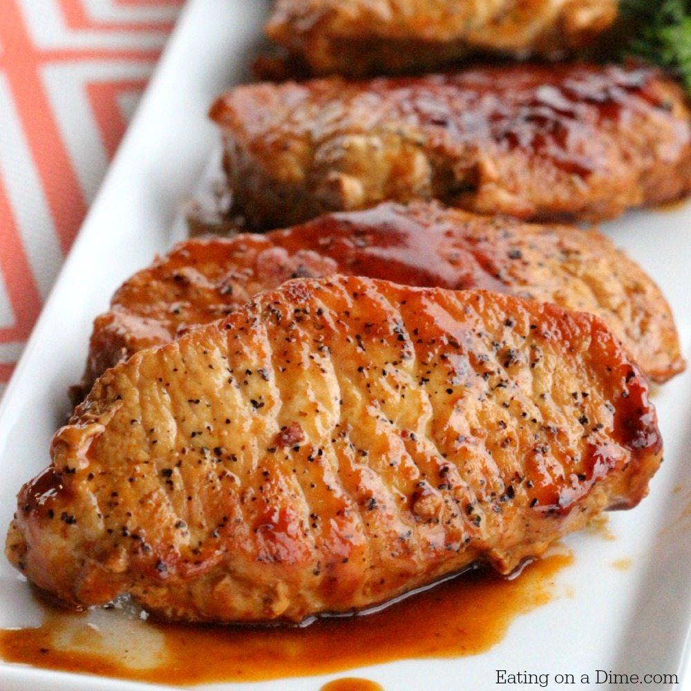 Easy Skillet BBQ Pork Chops