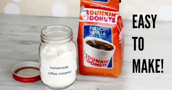 easy to make homemade powdered coffee creamer