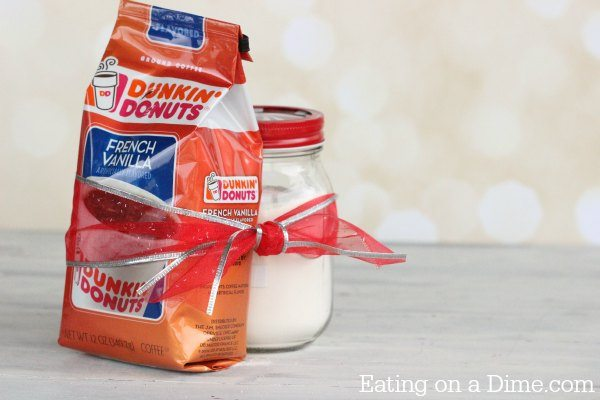homemade powdered coffee creamer gift idea