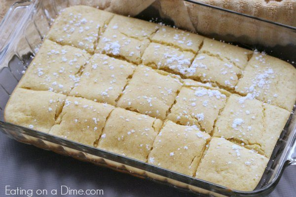 baked pancake squares are easy to make