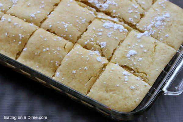 baked pancakes squares - whole pan