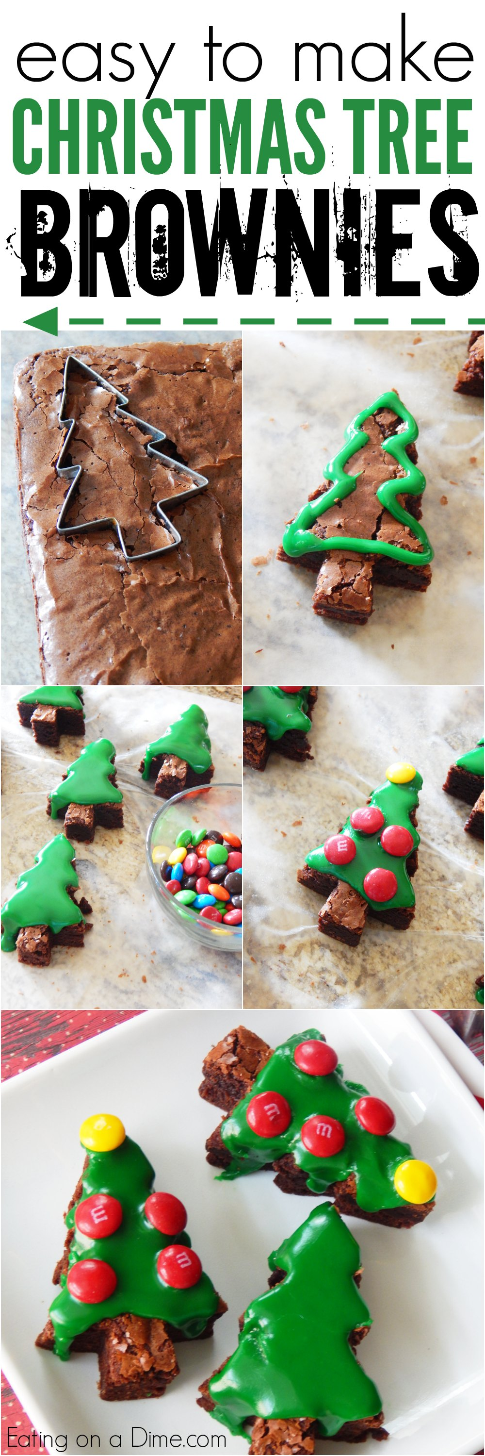looking for a christmas dessert how to make christmas tree brownies easily this easy - Christmas Easy Recipes