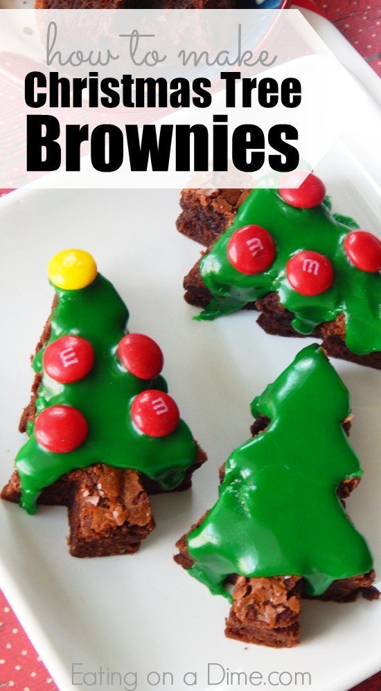 looking for a christmas dessert how to make christmas tree brownies easily this easy - How To Make A Christmas