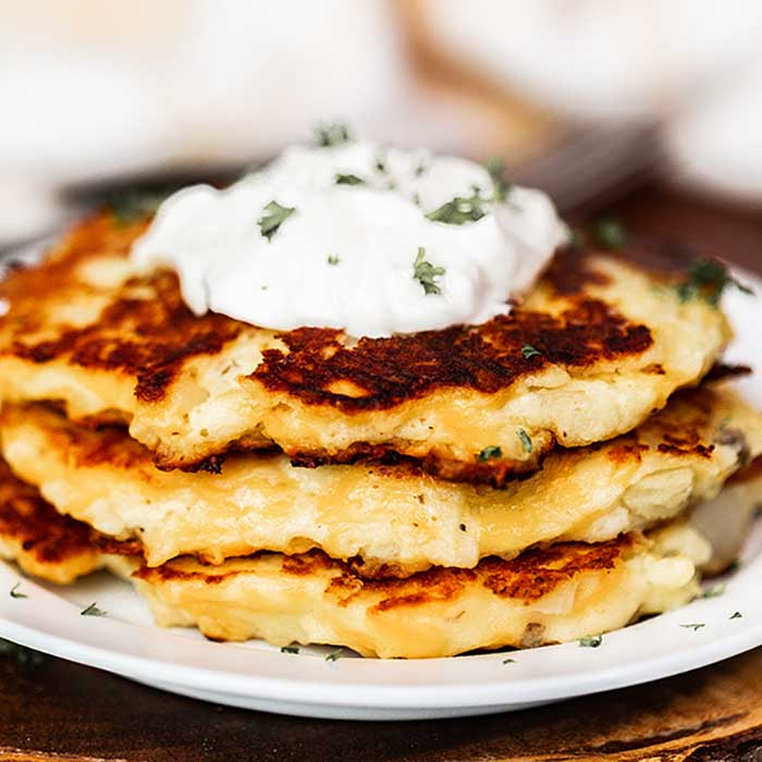 Mashed Potato Cakes Recipe Leftover Mashed Potatoes Cake