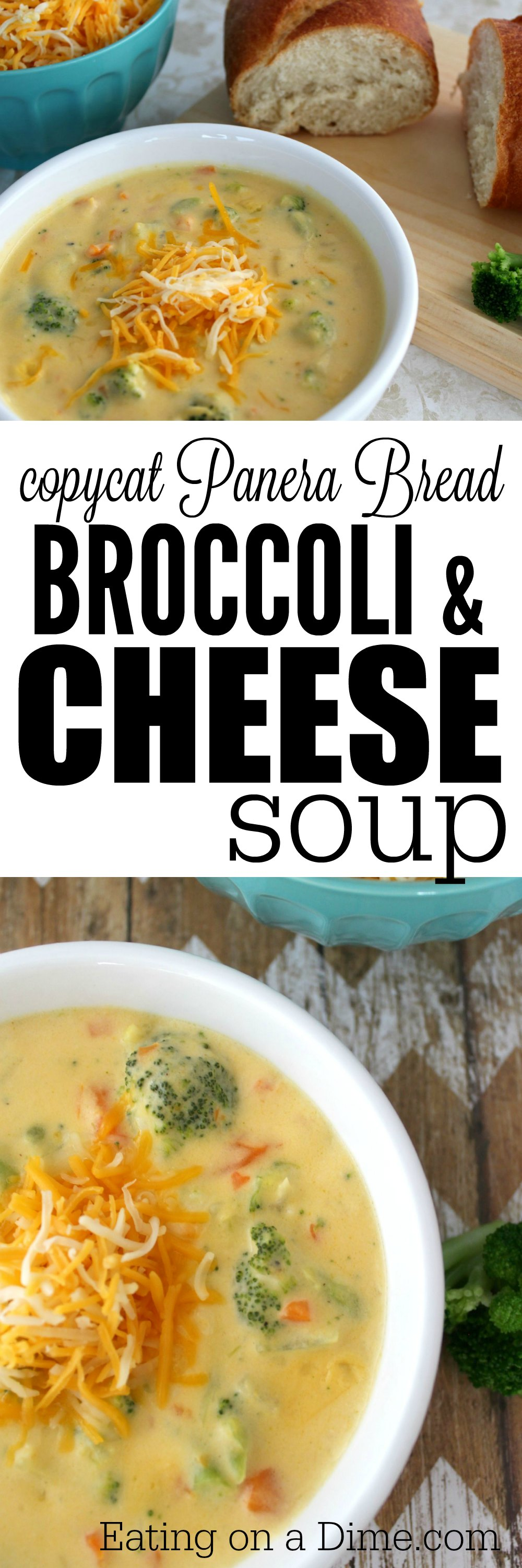 Here is an easy copycat panera broccoli cheese soup recipe. Panera broccoli cheese soup recipe is easy to make and will save you money.