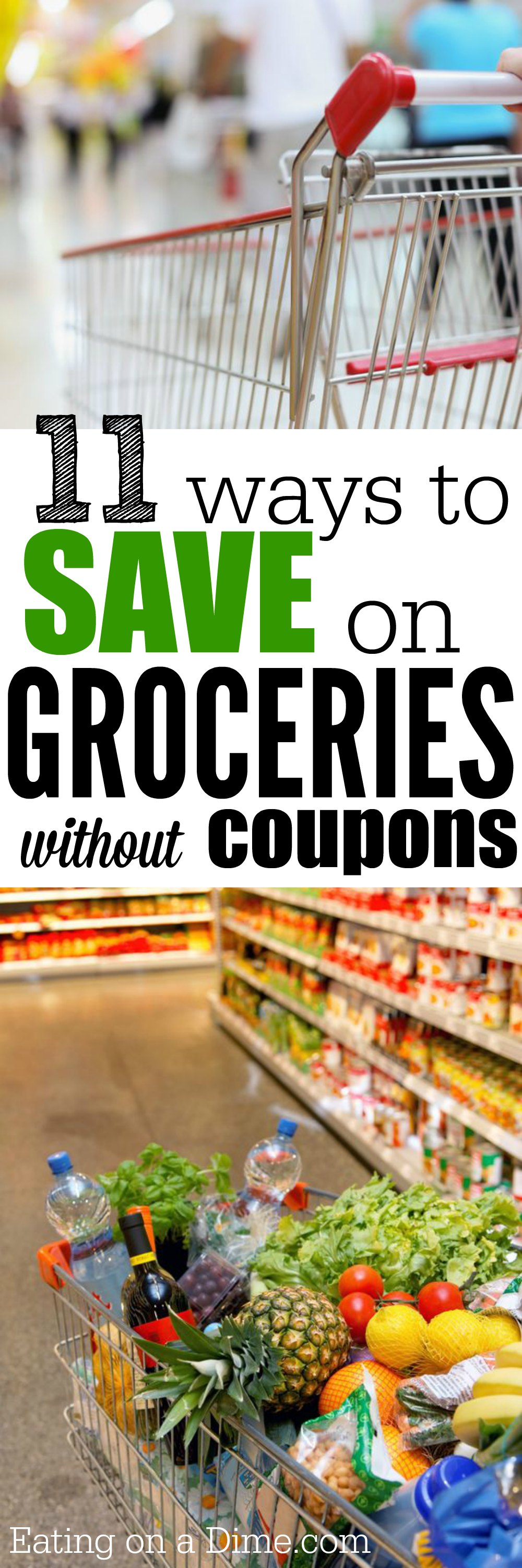 How to Save on Groceries without Coupons 11 ways