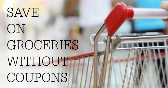 How to Save on Groceries without Coupons FACEBOOK IMAGE
