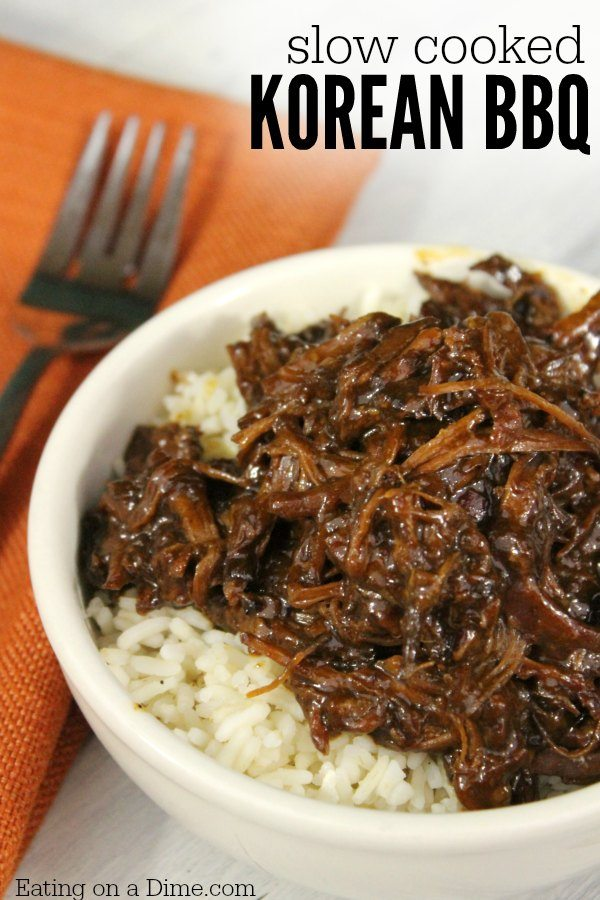 Crock pot korean bbq recipe eating on a dime crock pot korean bbq recipe forumfinder Image collections