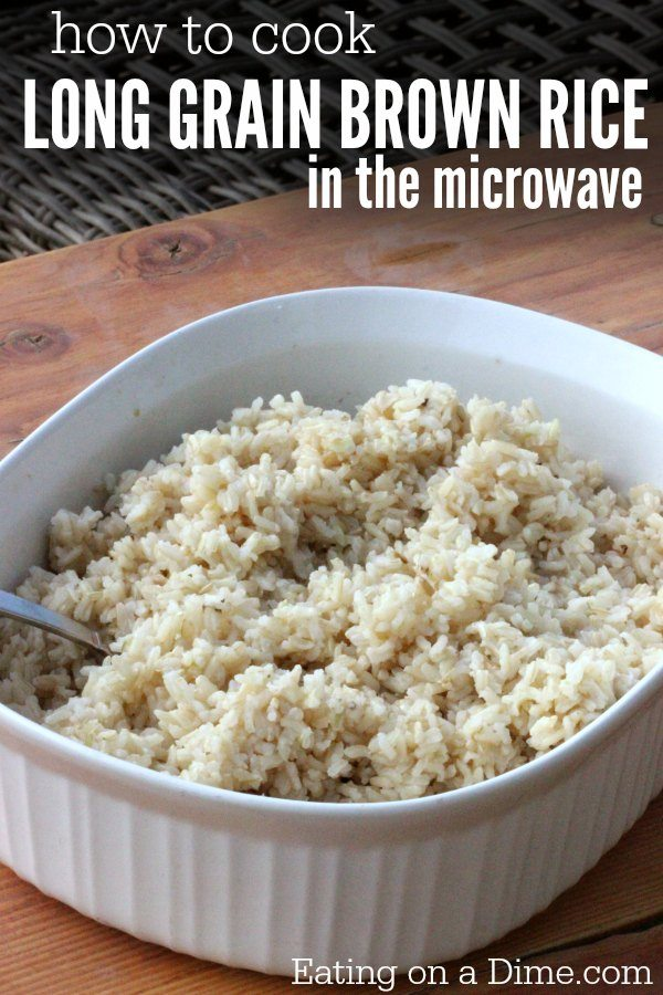 How To Cook Brown Rice In Microwave Learn Long Grain