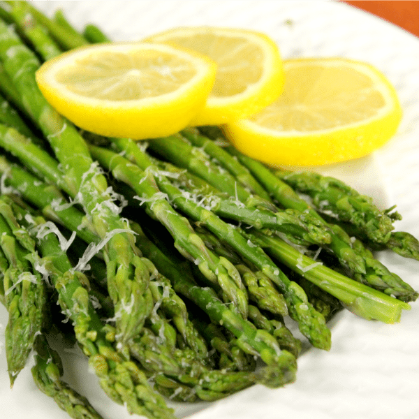 how to cook fresh asparagus in microwave