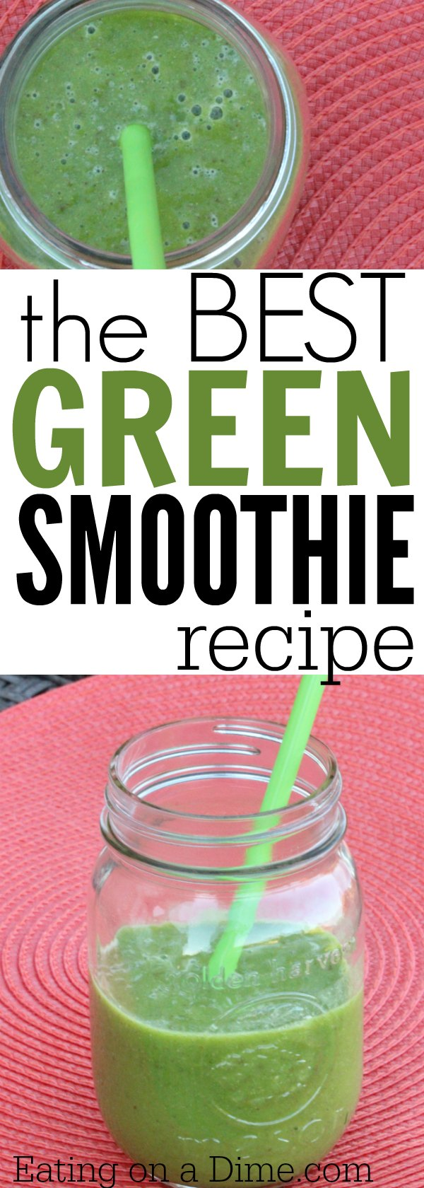Try This Delicious Spinach Pineapple Smoothie Recipe This Is One Of My Favorite Green Smoothie