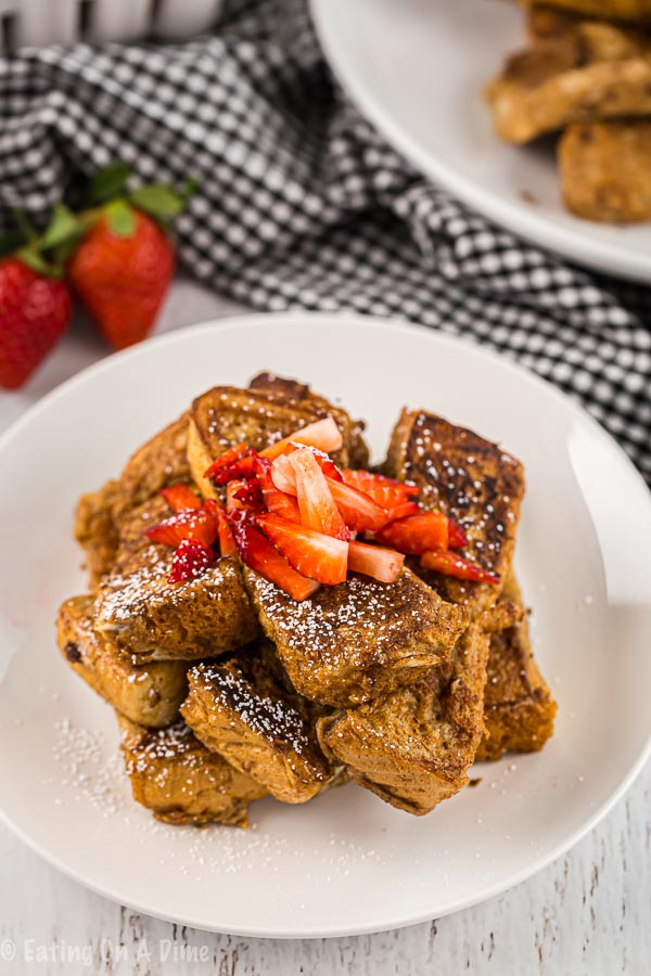 This French Toast Sticks recipe is easy to make and the entire family loves it. They're also freezer friendly for those hectic mornings!
