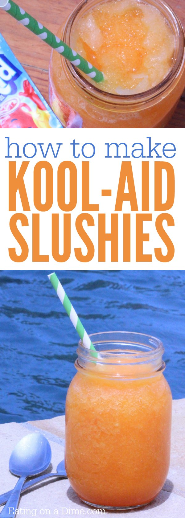 How to make a Slushie with Kool Aid mix. These kool-aid slushies are