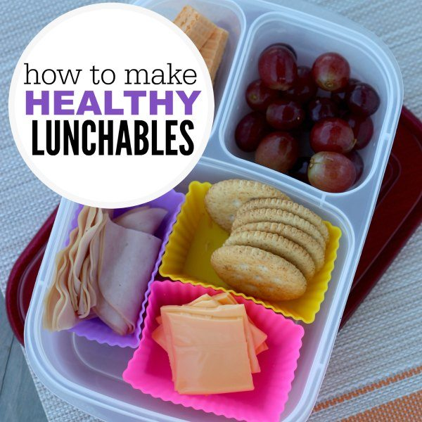 HOW TO MAKE HEALTHY LUNCHABLES SQUARE