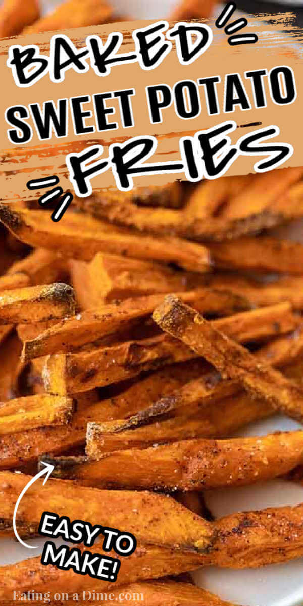 Oven Baked Sweet Potato Fries Recipe Crispy And Delicous